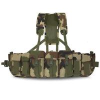 Bulldog Lightweight Airborne Webbing Set Para SF 3 Pouch With Yoke CE Woodland