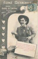 Agence Matrimoniale Marriage Agency Postcard - udb - 1904