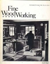 FINE WOODWORKING MAGAZINE September/October 1980 #24 SMALL SHOPS