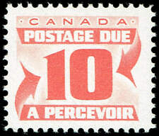 Scott # J27 - 1967 - ' Postage Due '; 20 x 17mm