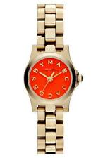 NEW Original MARC BY MARC JACOBS Gold Stainless Women Watch  MBM3202 $200