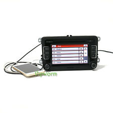 RCD510 Radio USB+Reverse Image W Code For VW Golf Jetta Passat Polo EOS CC
