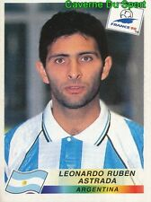 508 LEONARDO RUBEN ASTRADA ARGENTINA VIGNETTE STICKER WORLD CUP FRANCE 98 PANINI
