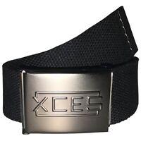XCES Web Belt w/ Bottle Opener (Black)