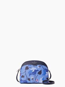 Kate Spade New York Payton Nouveau Bloom Dome Crossbody in Blue Multi