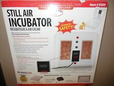 New listing Little Giant Still Air Incubator 9300 used once