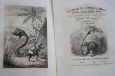 MILLE ET UNE NUITS VOYAGES DE SINBAD LE MARIN TOME 2 ILLUSTRE GALLAND  1846