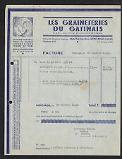 "MONTARGIS (45) MOULIN / MOUTURES LEGUMES SECS ""GRAINETERIES DU GATINAIS"" en 1952"