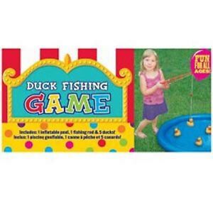 DUCK FISHING Inflatable Birthday Party Game Kids Activity