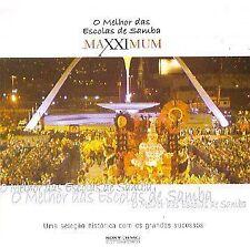 NEW Maxximum: O Melhor das Escolas de Samba (Audio CD)