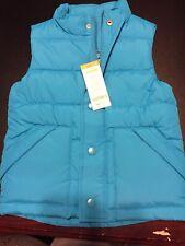 Gymboree Puffer Vest Blue XS 4 4T Unisex Boys Girls NWT