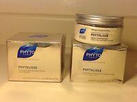 2 Phyto Phytolisse Express smoothing mask for Unruy, Frizzy Hair ~ 6.7 oz ea NIB