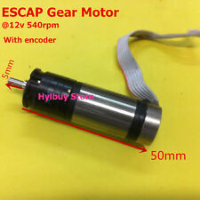 ESCAP 16 Coreless Gear Motor DC 12V 470RPM 540RPM 16G214EMR19 With encoder 16MM