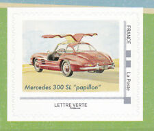 FRANCE 2019 Voitures de style Luxury cars adhesive Mercedes 300 SL MNH **