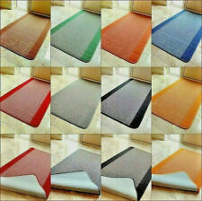 Small Large Door Mats Red Brown Blue Blue Grey Washable Kitchen Hall Runners