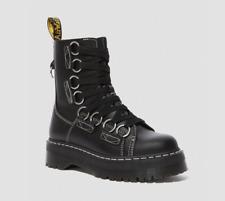 Dr Martens Jadon XL black leather ankle platform boots size UK 6/US 8 new w box