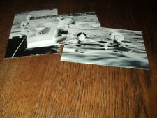 SHEILA LOT DE PHOTOS FORMAT 10*15 N&B - THEME 020 PLAGE - 3 PRISES