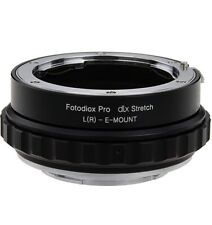 Fotodiox DLX Stretch Lens Mount Adapter-Leica R SLR Lens to Sony Alpha E-Mount M