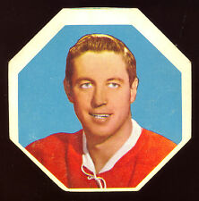 1961-62 YORK PEANUT BUTTER YELLOW #10 JEAN BELIVEAU EX+ MONTREAL CANADIENS