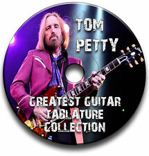 TOM PETTY ROCK GUITAR TABS TABLATURE SONG BOOK LIBRARY SOFTWARE CD ANTHOLOGY