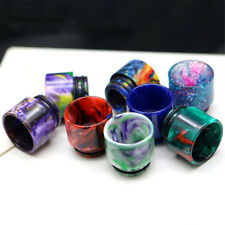 1X 810 Drip Tip Epoxy TFV8 TFV12 Resin Mouthpiece Cap For Cloud Beast Big Baby