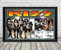 Kiss Signed Photo Print Autographed Poster Memorabilia