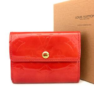 Louis Vuitton Monogram Vernis Ludlow Patent Leather Coin Purse Wallet / E0950
