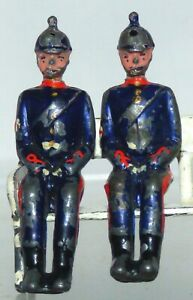MB22 Britains spare seated Medics from RAMC Ambulance. 1920s version