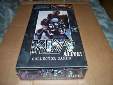 2001 NECA KISS ALIVE! Collector Cards 36 pack 7 card/pack box Factory Sealed
