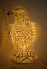 Porzellan Lampe Leuchte Adler Beleuchtung Wohn Dekoration Neu