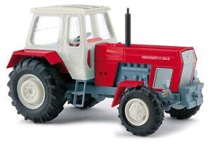 Busch 42848 - 1/87 Tracteur Progrès Zt 303-D - Rouge - Neuf