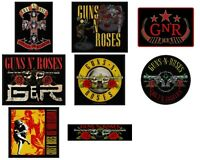 Guns N Roses Sew On Patch/Patches NEW OFFICIAL. Choice of 9 designs