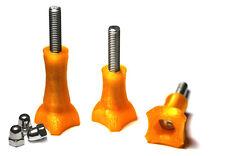 Thumb Knob Bold/Screw f. GoPro Go Pro HD HERO 1,2,3 Zubehör Schraube Orange