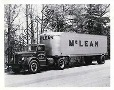 1940s MACK LJ & FRUEHAUF, McLEAN TRUCKING Winston-Salem,NC 8x10 B&W Glossy Photo