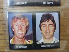 1979/1980 Football Sticker 79/80: 504) St Mirren - Jackie Copland & 409) Celtic