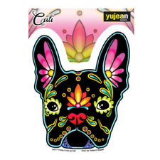 French Bulldog Sticker Decal Car Window Laptop Sugar Skull Dog Cali