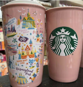 New Disney Land 2020 Starbucks Disneyland PinkTumbler Coffee Mug