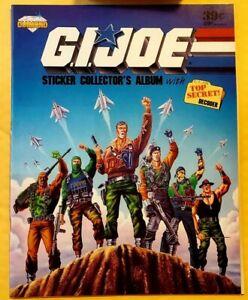 1986 GI JOE STICKER ALBUM (NEW/UNUSED) DIAMOND PANINI HARD TO FIND VINTAGE RETRO