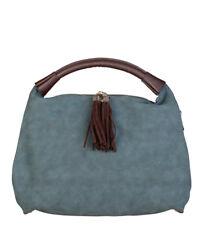 Bolsos de mujer Tote color principal azul sintético