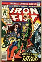 Iron Fist #10-1976-fn/vf 7.0 Chris Claremont John Byrne Misty Knight