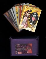 COMPLETE BASE SET 2012 Cult Stuff Art of Burlesque - 27 common cards, no inserts