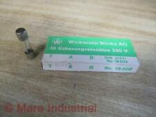 Wickmann-Werke AG 19.202 Fuse DIN 41571 (Pack of 10)
