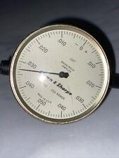 Brown Sharp Dial Indicator Model 8241 612 250 Range Vintage