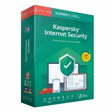 KASPERSKY INTERNET security 2020 1 Pc european KEY win/mac/android 6 meses