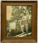 VINTAGE Wallace Nutting RARE Hand Painted PHOTO PRINTCirca EARLY 20TH Century