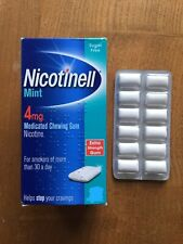 Nicotinell Mint 4mg (Trial Pack 12 Gums) Nicotine Chewing Gum - Expiry 05/2020