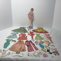 Paper Dolls and Clothes Assorted See All Pictures 60 + Pieces Vintage