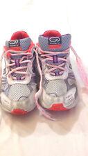 Kalenji - scarpe da ginnastica - colore bianco grigio arancione - N° 36 - usate
