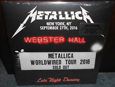 Metallica Live At Webster Hall 3-LP Vinyl Limited Sealed New York City NY NYC