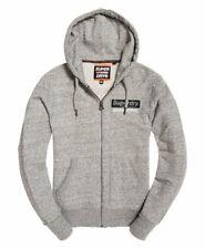 Superdry Vintage International monochrome Zip Hoodie Mens Pull over Sweatshirt